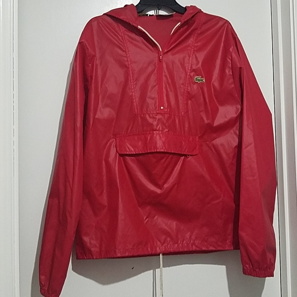 c13f6db08019 Lacoste Other - Lacoste Izod Vintage Rain Jacket Light Weight M